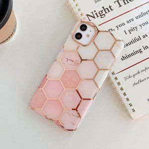 NEW iPhone 11/Pro/Max/XR Electroplated Geo case